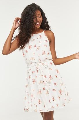 Ardene Floral Halter Neck Dress