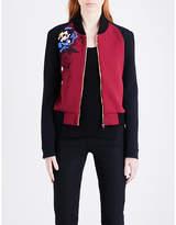 Roland Mouret Ladies Black Modern Rushenden Crepe Jacket