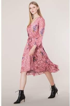 Hale Bob Abina Tie Front Dress