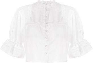 Sir. Maci short sleeved blouse