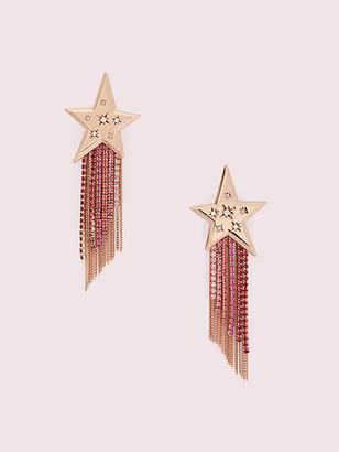 Kate Spade Star Of The Show Fringe Earrings