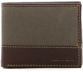 Timberland Baseline Canvas Leather Passcase Wallet