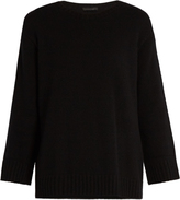 The Row Niola cashmere and silk-blend sweater