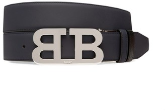 Bally Iconic Reversible Leather Belt