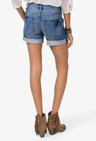 Forever 21 Destroyed Denim Shorts