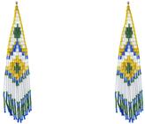 Forest of Chintz Aztec Diamond Earrings