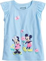 Disneyjumping Beans Disney's Minnie & Mickey Mouse Toddler Girl Graphic Tee by Jumping Beans