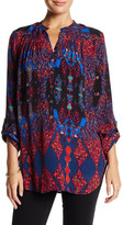 Plenty by Tracy Reese Printed Button Tunic