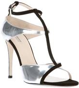 Giorgio Armani bi-colour strappy sandal