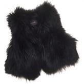 Isabel Marant Black fur coat.