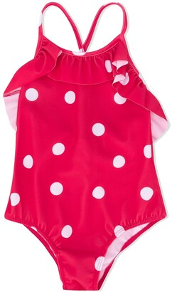 Douuod Kids Polka Dot Swimsuit