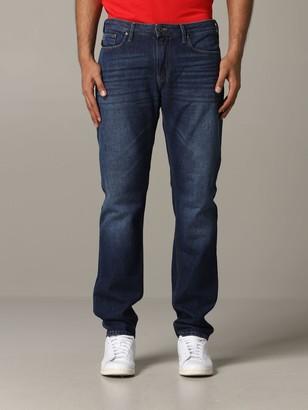 Emporio Armani Jeans Slim Fit Jeans 8 Oz
