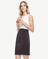 Ann Taylor Colorblocked Lantern Dress