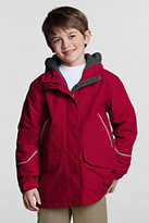 Lands' End Boys Squall Parka-Red