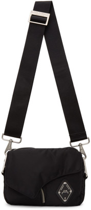 A-Cold-Wall* Black Padded Envelope Crossbody Bag