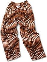 Zubaz Adult Pants Black/Orange L