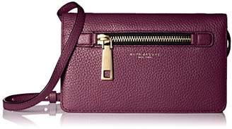 Marc Jacobs Women's Gotham Wallet with Leather Crossbody Strap