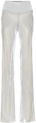 Rick Owens Silk-blend velvet pants