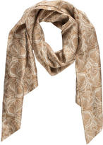 Thomas Wylde Abstract Print Scarf
