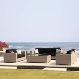Houseology Skyline Brando 2 Seat Sofa - Silver Walnut - Heather