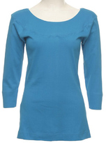 Le Mieux Turquoise Long-Sleeve Tee - Plus