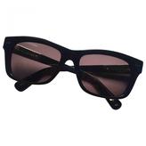Marc Jacobs Black Plastic Sunglasses