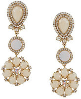 Kate Spade At First Blush Mother of Pearl Drop Earrings