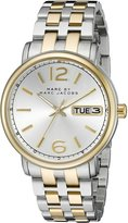 Marc by Marc Jacobs Marc Jacobs Women's MBM3426 Fergus Analog Display Two-Tone Watch