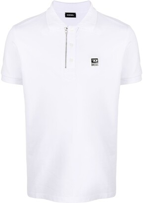 Diesel Zipped Collar Polo Shirt