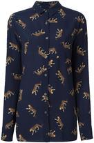 Paul Smith leopard print shirt