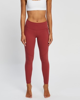 Sweaty Betty Women's Red Tights - Power Workout Leggings - Size M at The Iconic