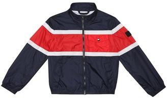 Woolrich Kids Colorblocked technical jacket
