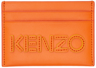 Kenzo Orange Kontrast Card Holder