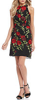 Betsey Johnson Floral Embroidered Dress