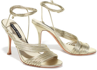 Alice + Olivia Danessa Ankle Tie Heel
