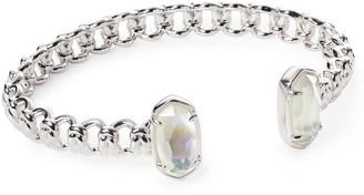 Kendra Scott Macrame Elton Silver Cuff Bracelet