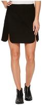 Stetson Goat Suede Scalloped Skirt Women's Skirt