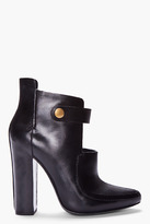 Alexander Wang Black Patent Kamila Mary Jane Boots