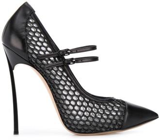 Casadei pointed high stiletto heel pumps
