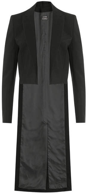 Anthony Vaccarello Cutaway Coat