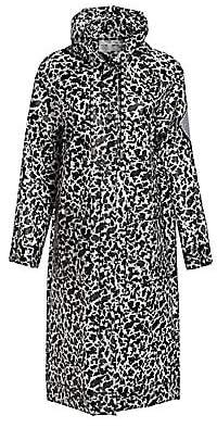 Proenza Schouler White Label Women's Printed Long Raincoat