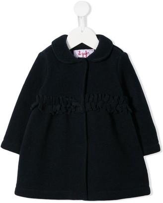 Il Gufo Fringed Cocoon Coat
