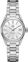 Tag Heuer WAR2411.ba0770 Carrera stainless steel and mother-of-pearl watch