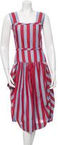 Vivienne Westwood Striped Flare Dress w/ Tags