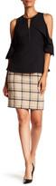 Hobbs Tiffany Wool Check Skirt