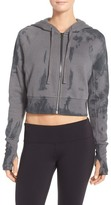 Alo Abree Crop Fleece Hoodie