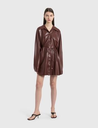 Nanushka Joy Vegan Leather Dress