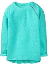 Crazy 8 Sparkle Zip Pullover