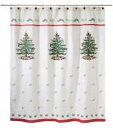 Avanti CLOSEOUT! Spode Christmas Tree Shower Curtain