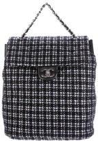 Chanel Spring 2016 Tweed Backpack